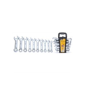 Photo of Rolson 10 Piece Stubby Spanner Set Tool