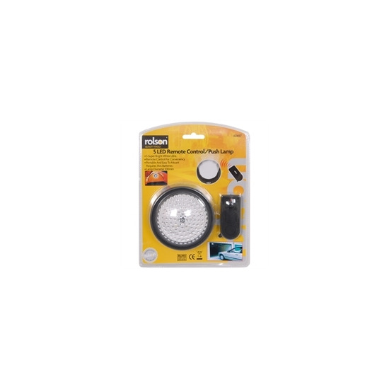 Rolson 5 LED light With Remote Control