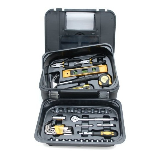 Rolson 128 Piece Household and Automotive Tool Set
