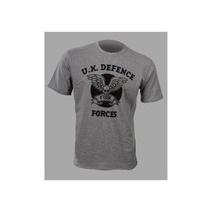 Photo of French Connection Grey T-Shirt With UK Force Print T Shirts Man