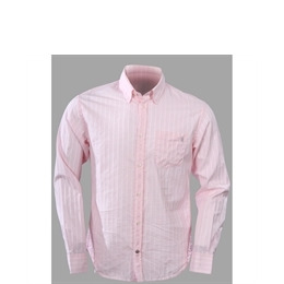 French Connection white and pink stripe shirt Reviews