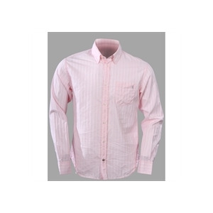 Photo of French Connection White and Pink Stripe Shirt Shirt