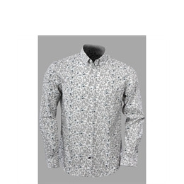 French Connection long sleeved floral print shirt Reviews