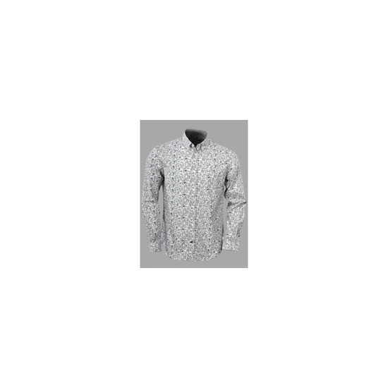 French Connection long sleeved floral print shirt