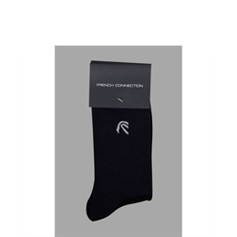 French Connection 2pk black & navy socks Reviews