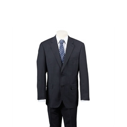 Scott Black Stripe Bengaline Suit Reviews