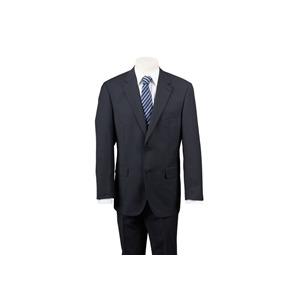 Photo of Scott Black Stripe Bengaline Suit Jackets Man