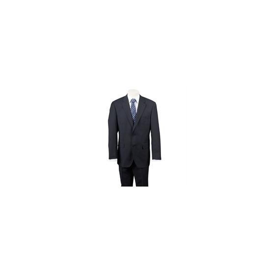 Scott Black Stripe Bengaline Suit