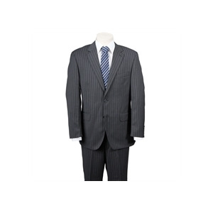 Photo of Scott Charcoal Stripe Suit Jackets Man