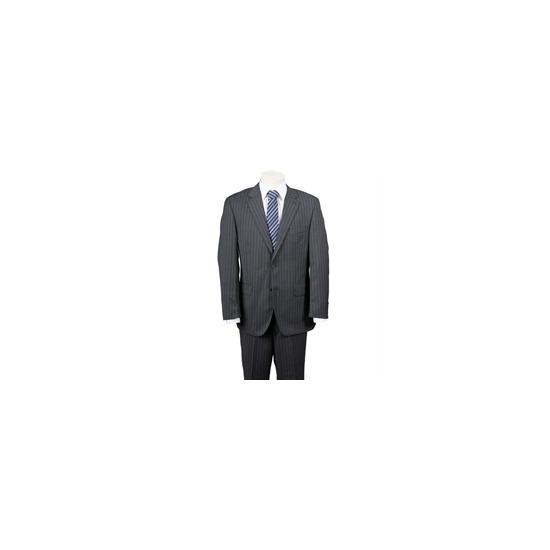 Scott Charcoal Stripe Suit