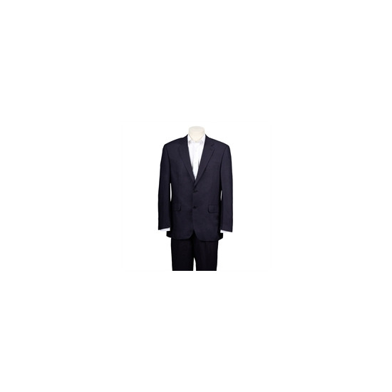 Scott Navy Linen Blend Suit