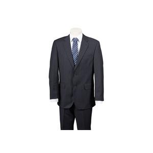 Photo of Scott Black Chalk Stripe Suit Jackets Man