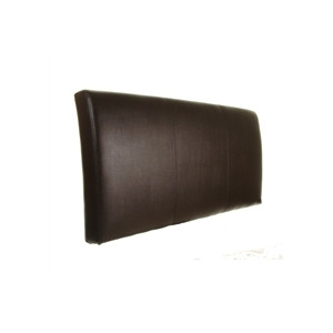 Photo of Torino 5FT Headboard Brown Faux Leather Bedding