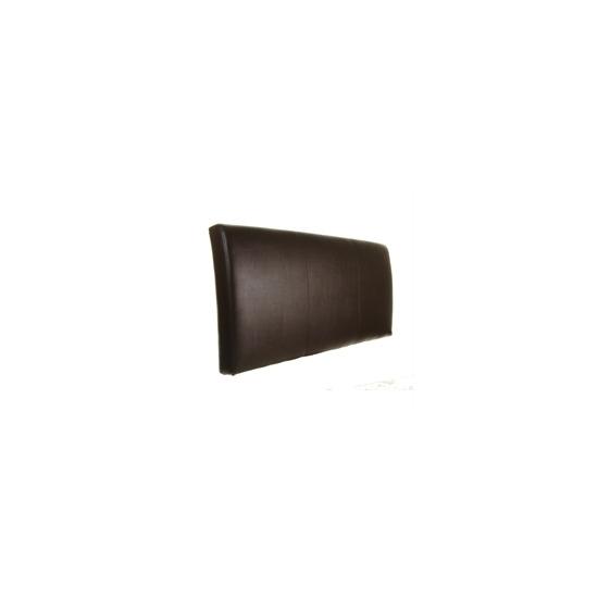 Torino 5ft Headboard Brown Faux Leather