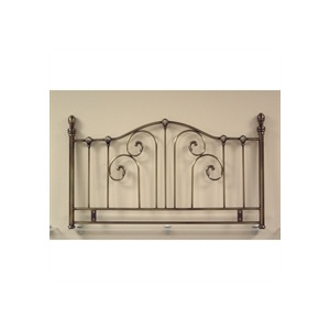 Photo of La Rochelle 4FT6 Headboard  Antique Brass Effect Bedding