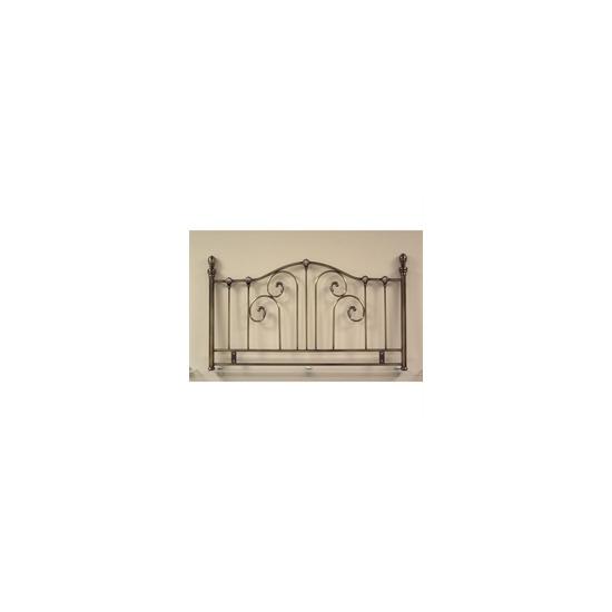 La Rochelle 5ft Headboard - Antique Brass Effect