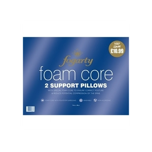 Photo of Fogarty Foam Core Support Pillows Bedding
