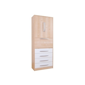 Photo of Lyon Study Storage Unit - Beech Effect & Cream Furniture