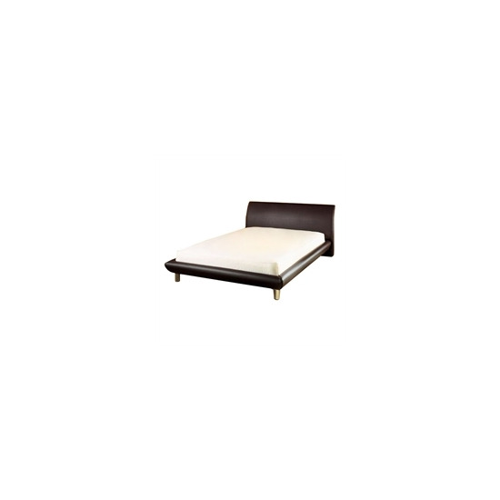 Chamonix 4ft6 Bedstead  Brown Faux Leather