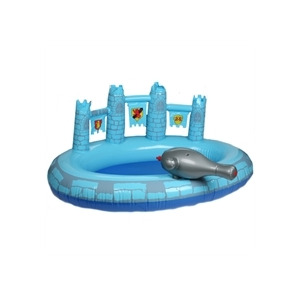 Photo of Prince Blue Castle Pool With Hose Toy