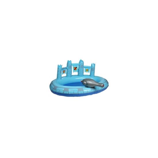 Prince Blue Castle Pool with Hose