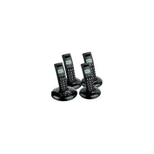 Photo of BT Graphite 1500 Quad Digital Cordless Answer Phone -  ECO Phone Landline Phone