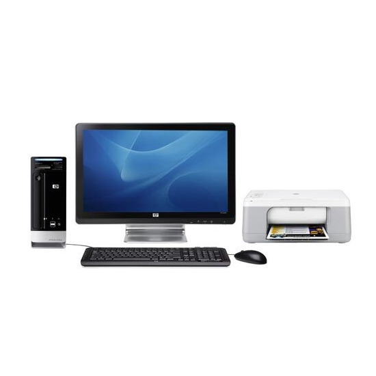 """HP s3811uk-p with 20"""" display and HP F2280 All-in-one"""