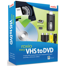 Roxio Easy VHS to DVD Reviews
