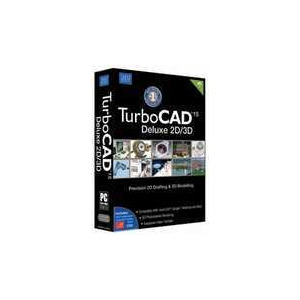 Photo of TurboCAD Deluxe 2D/3D Software