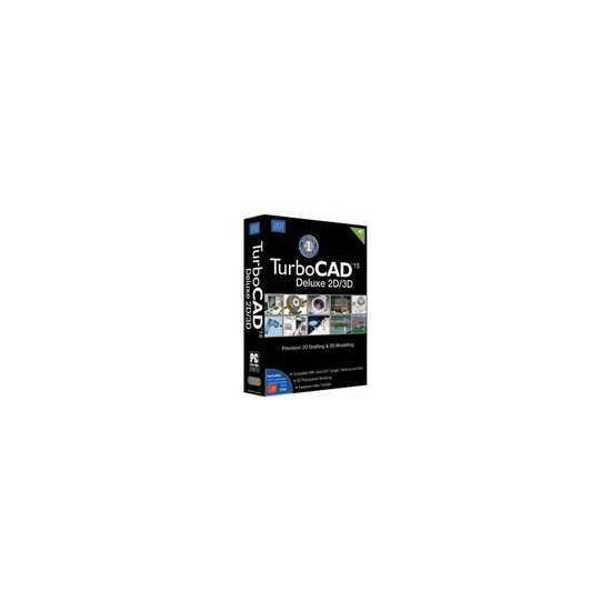 TurboCAD Deluxe 2D/3D