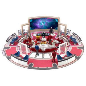 "Photo of Star Trek USS Enterprise Bridge and 3.75"" Action Figure Toy"