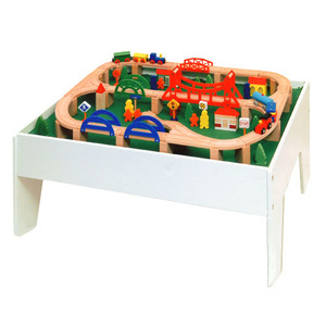 Photo of Halsall 5 In 1 Train and Game Activity Table Toy