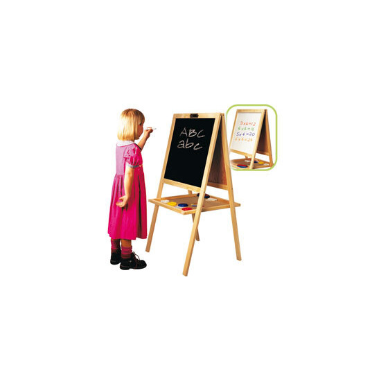Art Centre Wooden Blackboard & Easel