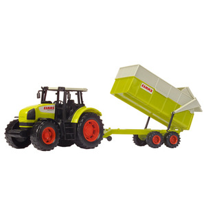 Photo of Claas Tractor and Trailer Set Toy