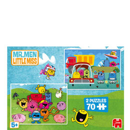 Mr Men 2x70 Piece Puzzles Reviews