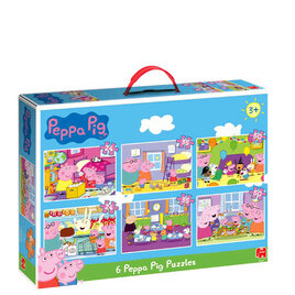 Peppa Pig Bumper Pack 6 in 1 Puzzles Reviews