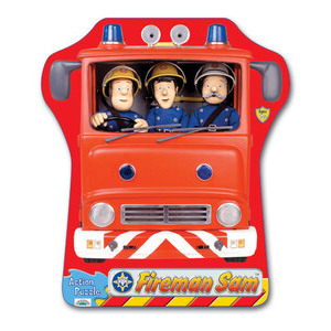 Photo of Fireman Sam Action Puzzle - Fire Engine Toy