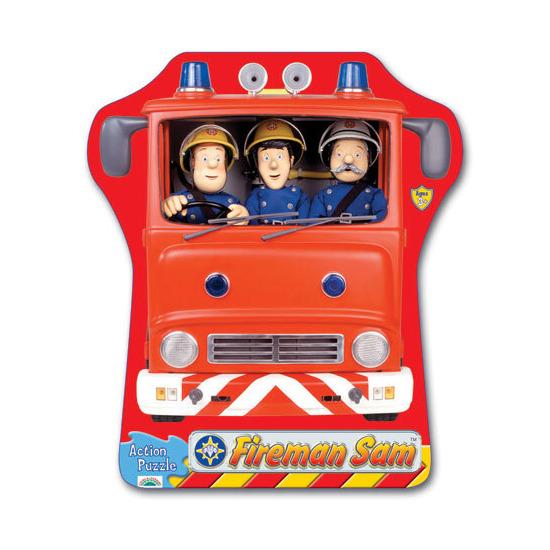 Fireman Sam Action Puzzle - Fire Engine