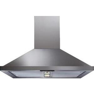 Photo of CDA 90CM Island Hood Stainless Steel and Glass Cooker Hood