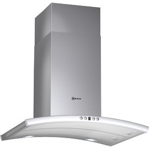 Photo of Neff Chimney Hood Stainless Steel With Glass Canopy Cooker Hood