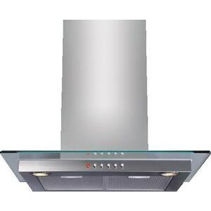 Photo of CDA 70CM Chimney Hood Stainless Steel and Glass Cooker Hood
