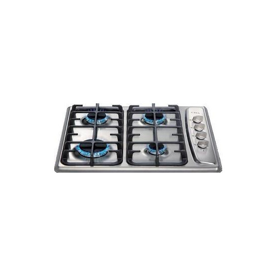 CDA 60cm Gas Hob - Stainless Steel