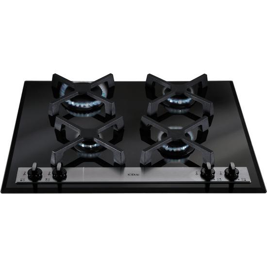 CDA 60cm Gas on Glass Hob - Black