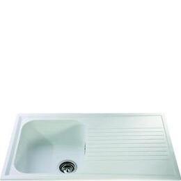 CDA Composite Single Bowl Sink - White Reviews