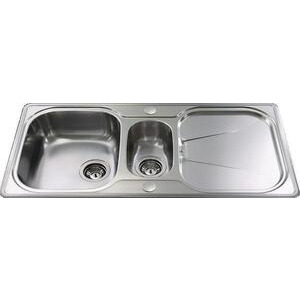 Photo of CDA KA42SS One and Half Bowl Kitchen Sink