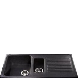 CDA Composite One and Half Bowl Sink Ebony Black Reviews