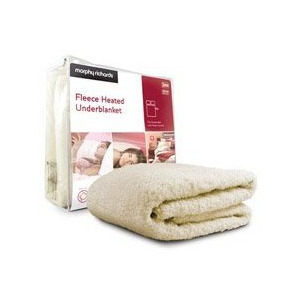 Photo of Morphy Richards Double DUAL Electric Blanket Bed Linen