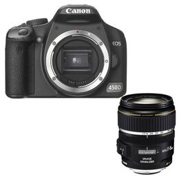 Canon EOS 450D with 17-85mm lens Reviews