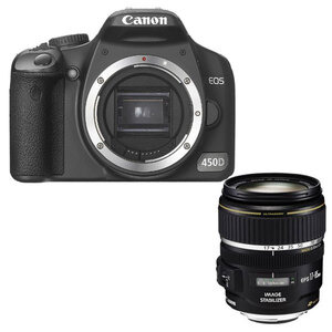 Photo of Canon EOS 450D With 17-85MM Lens Digital Camera