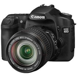 Canon EOS 40D with Canon EF-S 10-22mm and 17-85mm USM lenses Reviews